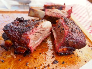 KY BBQ Festival Beef Ribs Texas style hickory smoked beef ribs BBQ